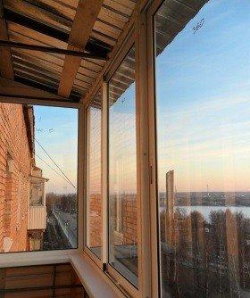 Новая крыша на балкон