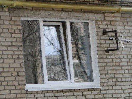 Окно в хрущевку кирпичную