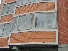 Остекление балкона П 44 т