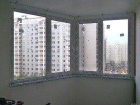 Остекление балкона Утюжок
