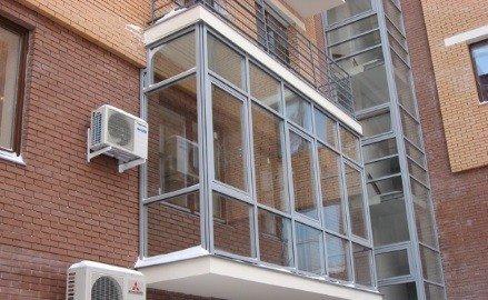 Панорамные окна для остекления балкона