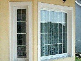 Панорамные окна с раскладкой