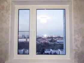 Пластиковое окно в хрущевку панельное
