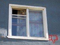 Старое окно в хрущевку