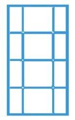 Третий вариант окна с раскладкой