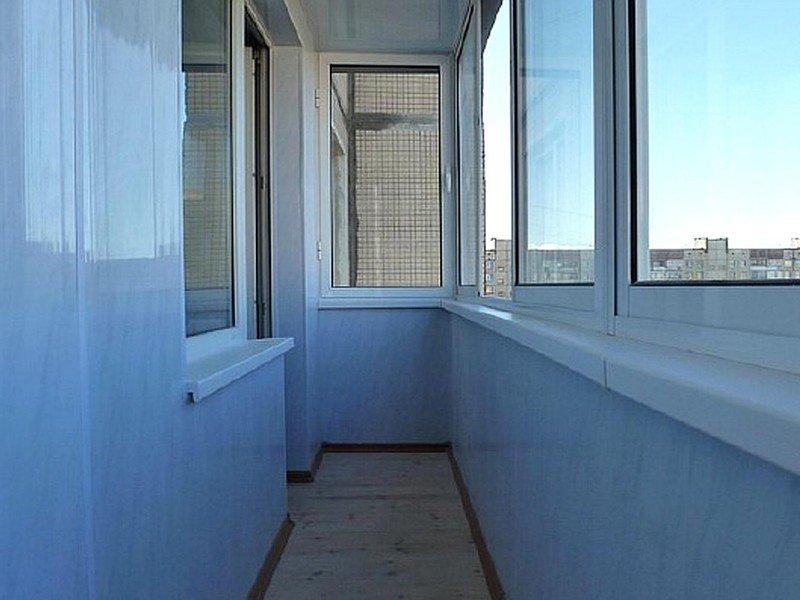 пластиковая отделка балкона от производителя