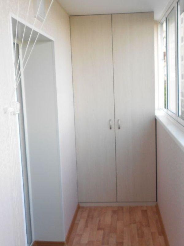 Внутренняя отделка балкона панелями