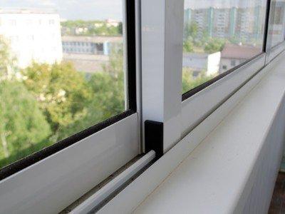 Алюминиевое остекление балконов окна