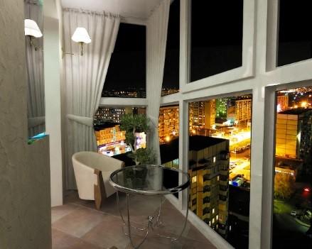Французские теплые окна на балкон