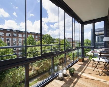 Холодные французские окна на балконы