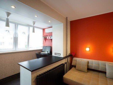 Объединение теплого балкона с комнатой