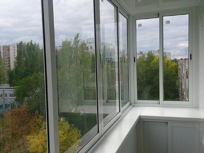 Остекление балкона окна по ГОСТ