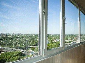 Остекление балкона окна ПВХ