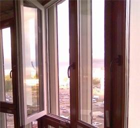 Остекление французскими окнами вторым контуром