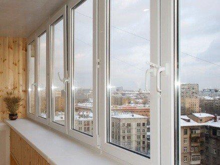 ПВХ теплые окна на балконы