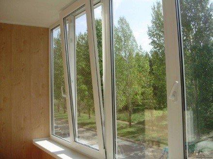 Пластиковое окно для застекления балконов