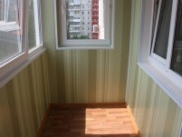 Пластиковые панели внутренняя отделка балкона