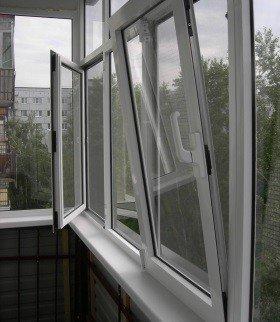 Поворотно-откидное окно