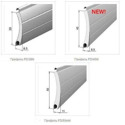 Профиль алюминиевый для недорогих роллет