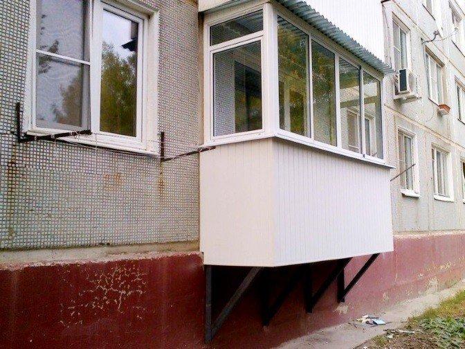 Строительство балкона по ГОСТ