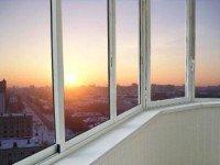 Недорогие окна на балкон Проведал