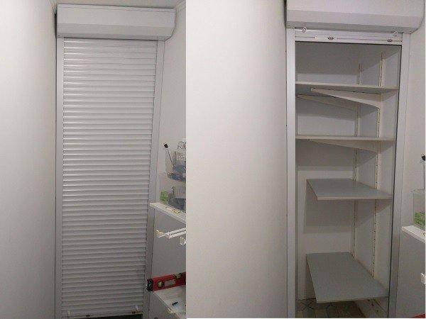 Мебельные роллеты для шкафа