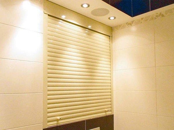 Рольставни сантехнические в туалет и ванную