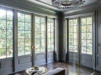 Французские окна со шпросами