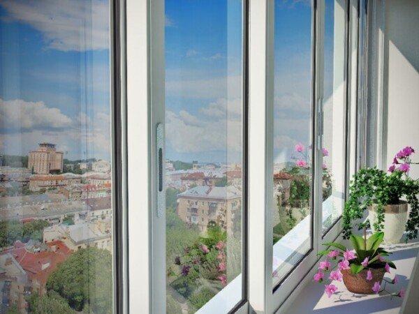 Алюминиевые раздвижные окна по ГОСТ