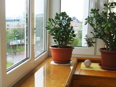 Поставить пластиковые окна Брусбокс на балкон