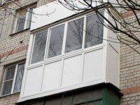 Французское остекление лоджий и балконов