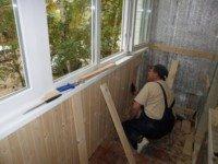 Отделка остекление и утепление балкона под ключ