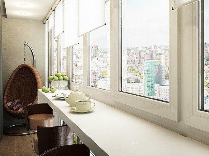 Цена балкона в Москве