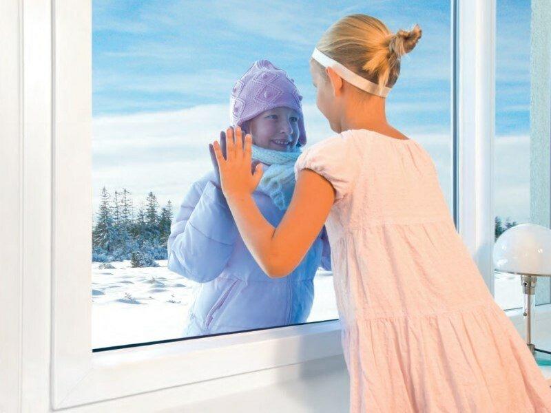 2 окна пластиковые теплые