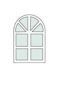 полуциркульные окна