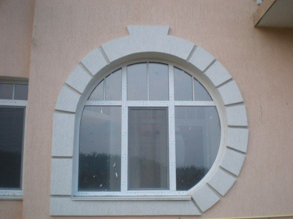 Нестандартные ПВХ окна
