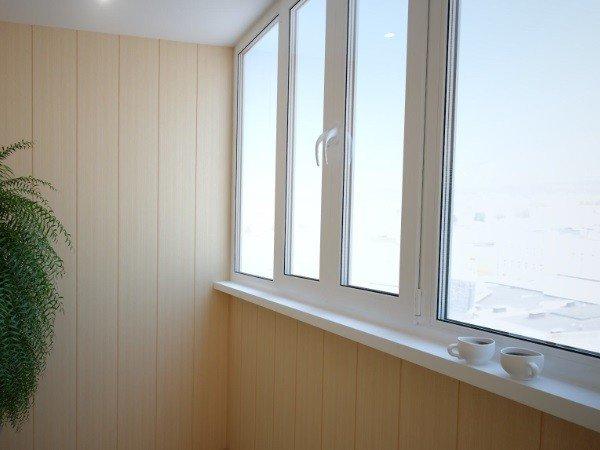 Балкон с пластиковыми окнами от производителя