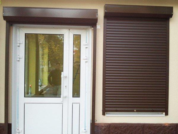 Рольставни на двери наружные от производител