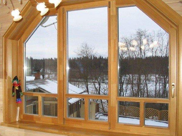 Деревянные окна из лиственницы для дома и квартиры