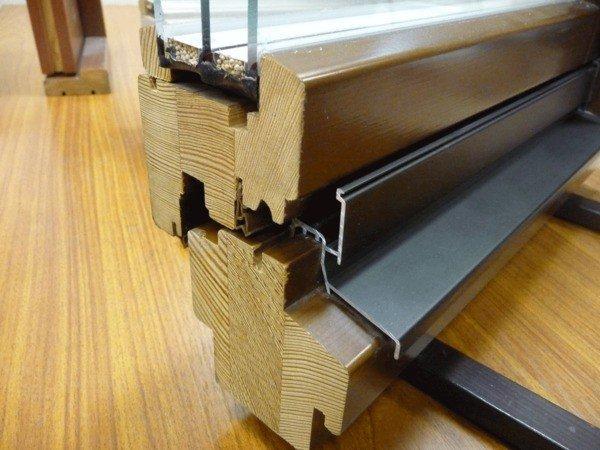Пакет деревянных окон Люкс