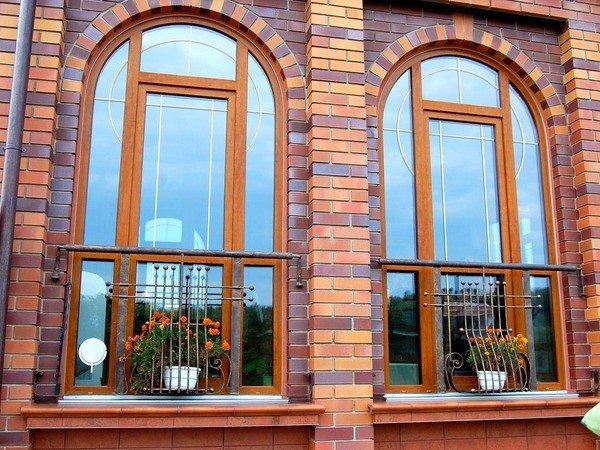 Окна деревянные из лиственницы от производителя