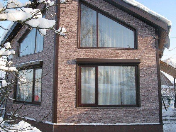 Пластиковые окна в дом под ключ