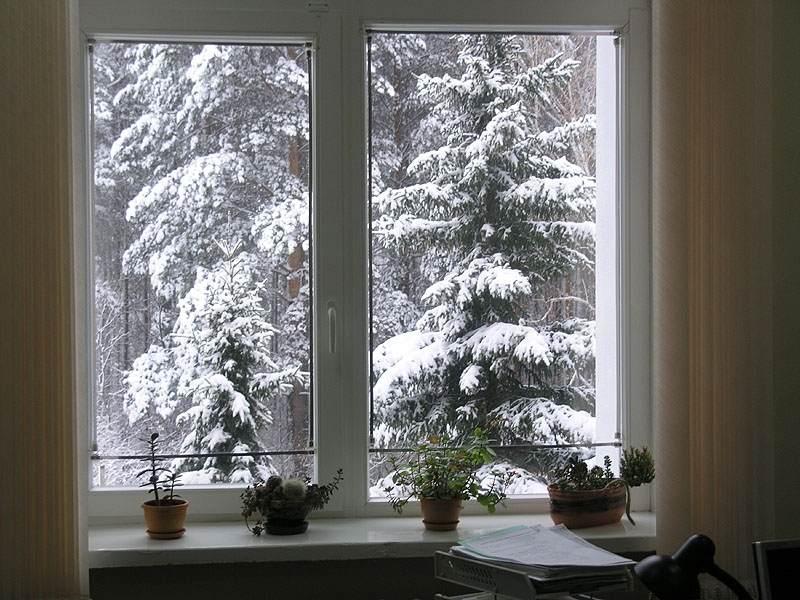 Зимние пластиковые окна по ГОСТ