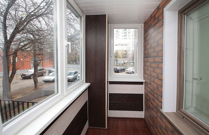 Пластиковые окна на балкон