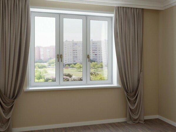 Стандарт окна в гостиную