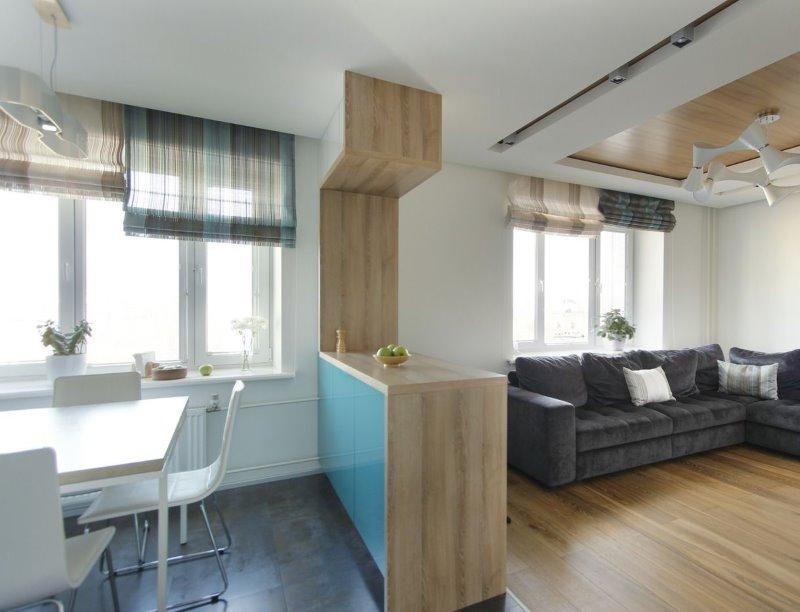 Пластиковые окна в двухкомнатную квартиру