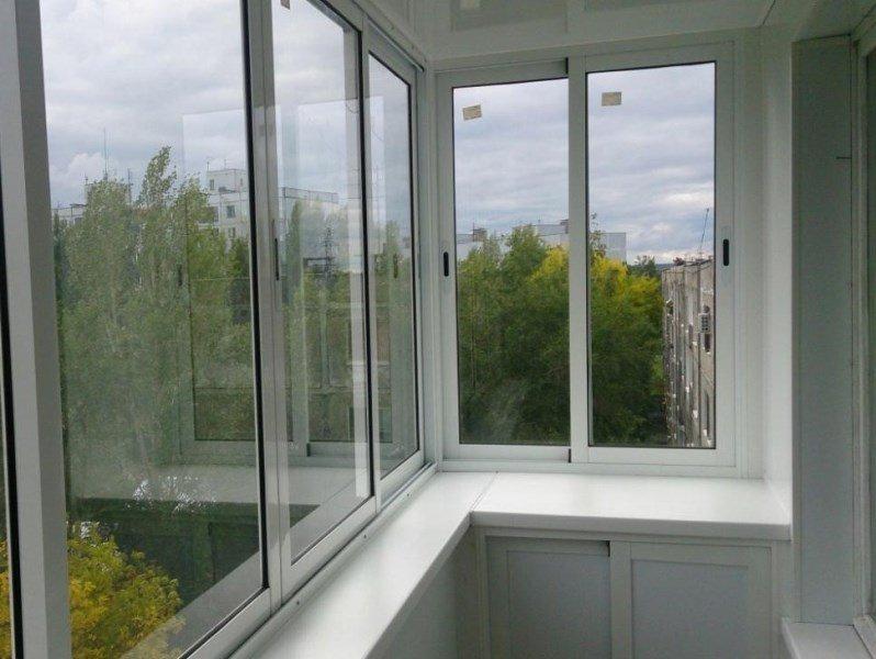 Остекление балконов в Балашихе