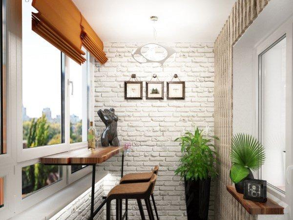 окно на балкон