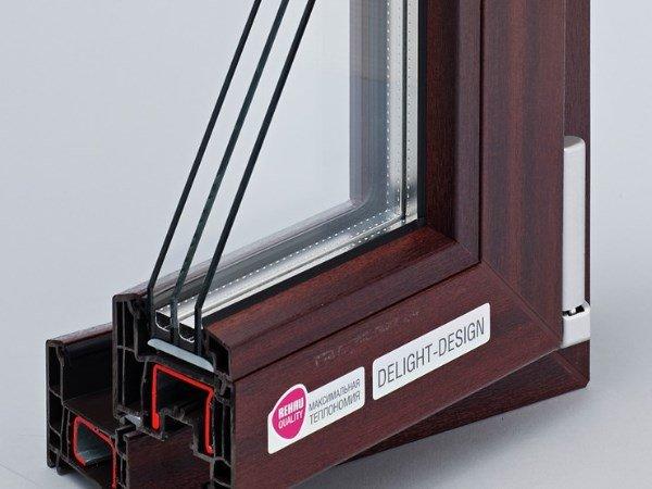 окна рехау делайт дизайн