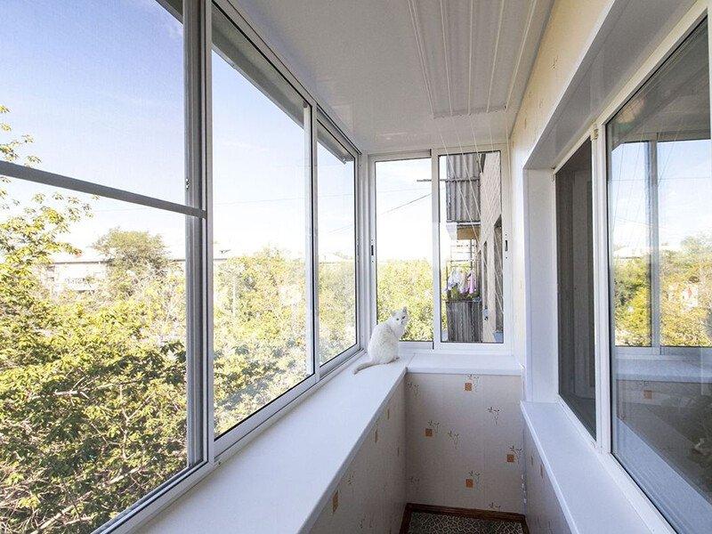 дешевое остеление балконов